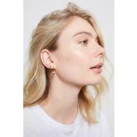Earrings Starfish Half plated