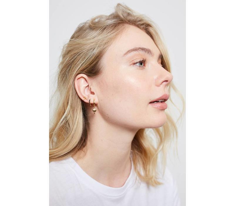 Parade Goldplated Earrings Starfish Half