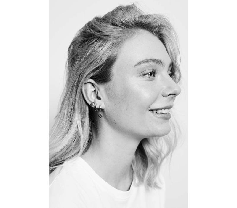 Earrings Sea Shell silver