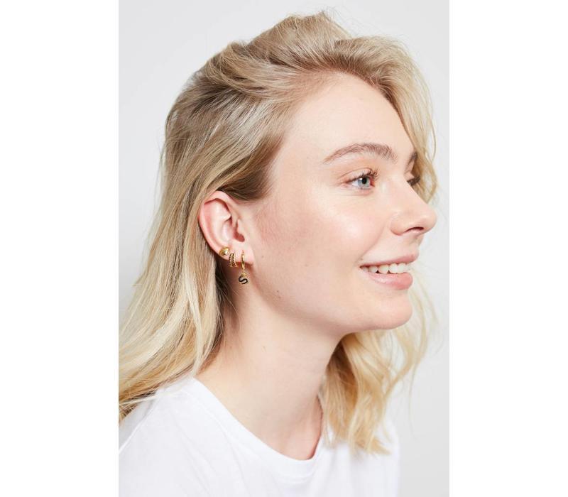 Parade Goldplated Earrings Sea Shell