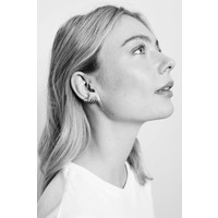 Parade Silverplated Earrings Horn