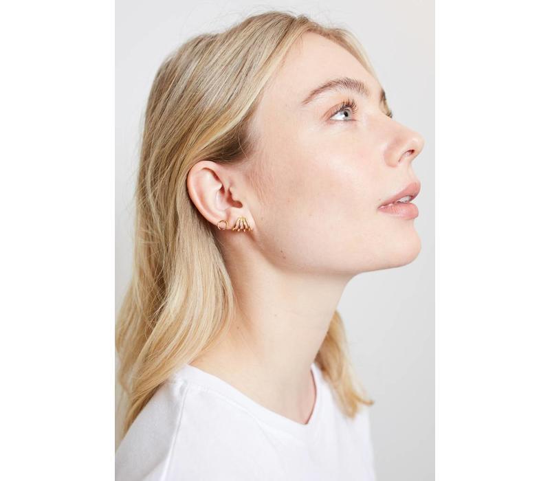 Parade Goldplated Earrings Horn