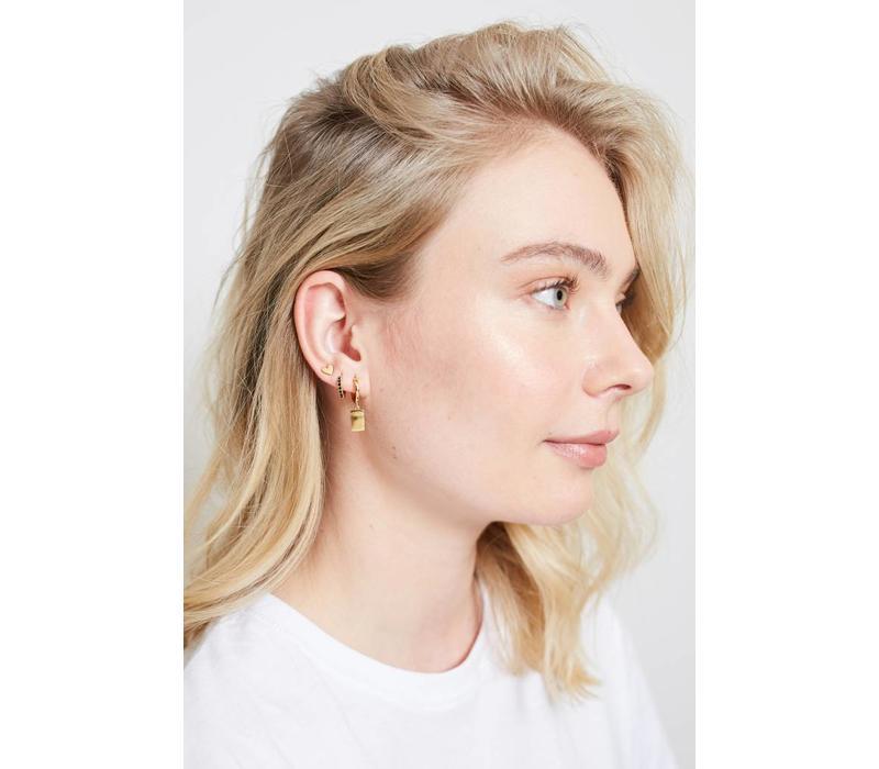 Parade Goldplated Earrings Heart