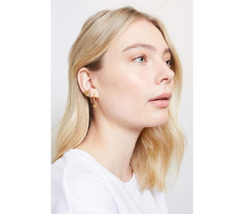 Parade Goldplated Earrings Eagle