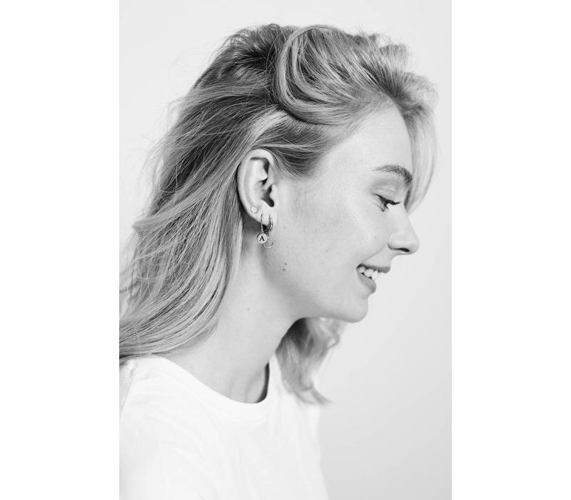 Earrings Circle silver