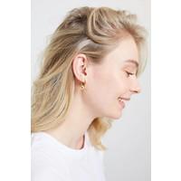 Parade Goldplated Earrings Circle
