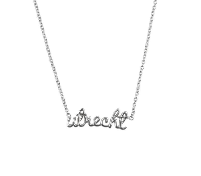 Necklace Utrecht silver