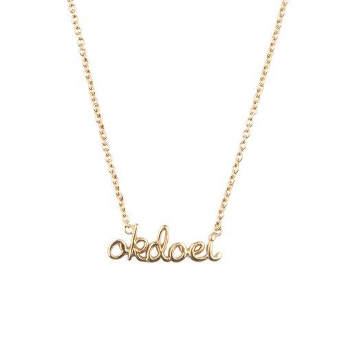 Ketting Okdoei 18K goud