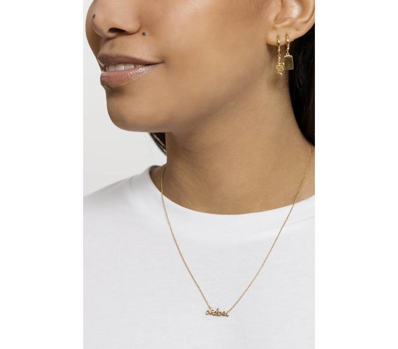 Necklace Okdoei 18K gold