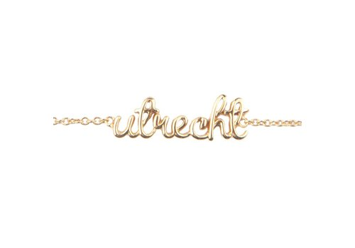 All the Luck in the World Urban Goldplated Bracelet Utrecht