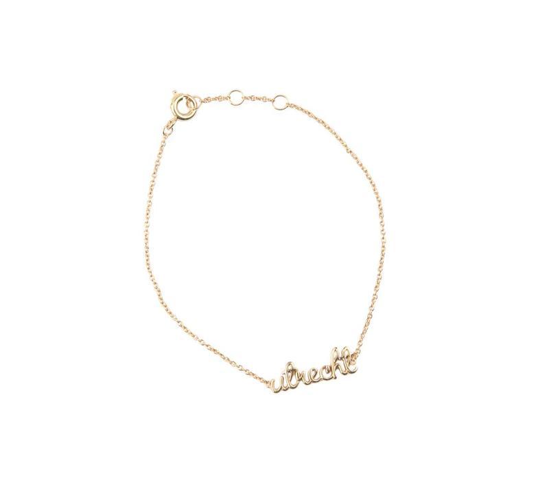 Urban Goldplated Bracelet Utrecht