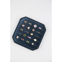 Ring Dots Multi plated