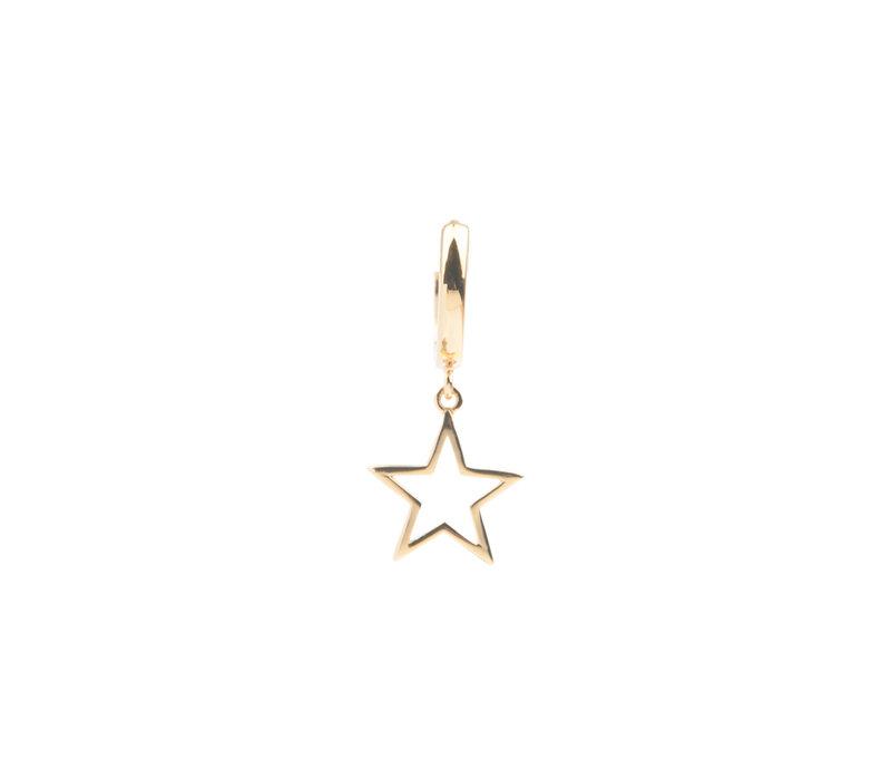 Earring Star gold