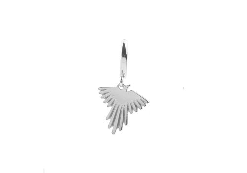All the Luck in the World Souvenir Silverplated Earring Eagle