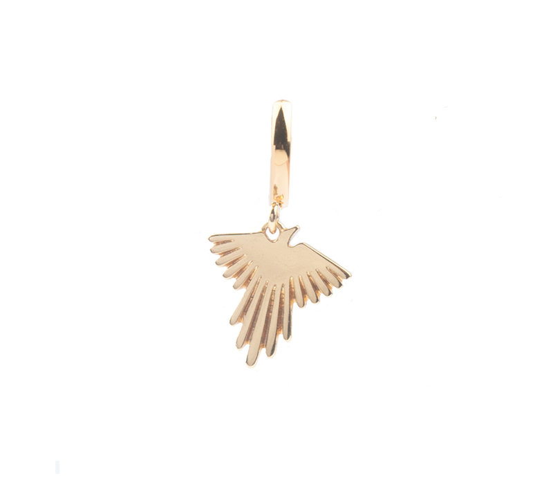 Earring Eagle gold