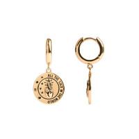 Oorbel All the Luck Cirkel 18K goud