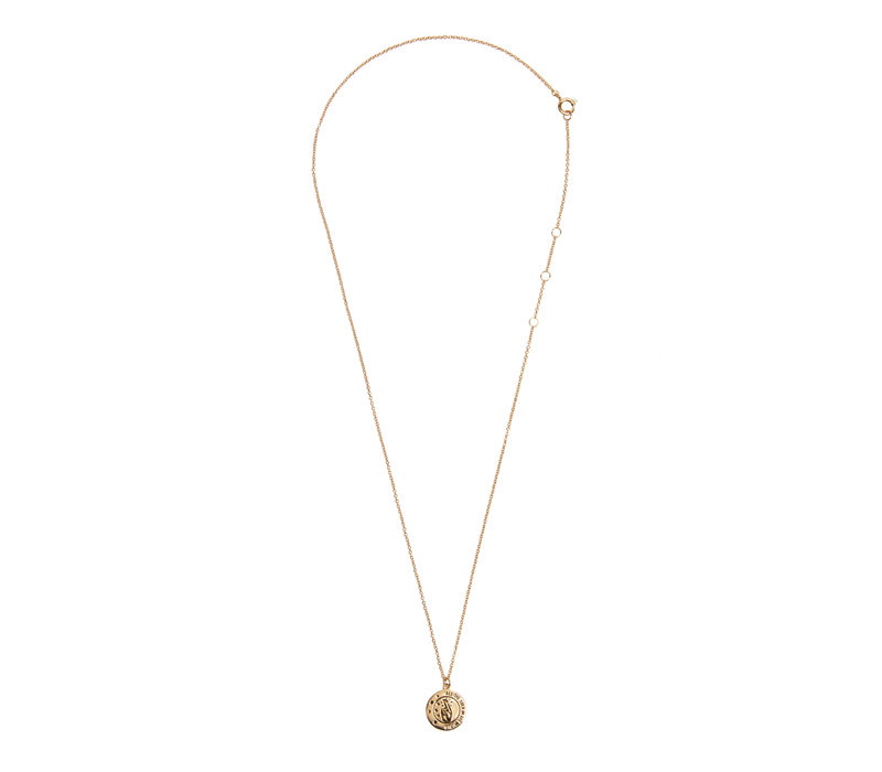Necklace All the Luck Circle 18K gold