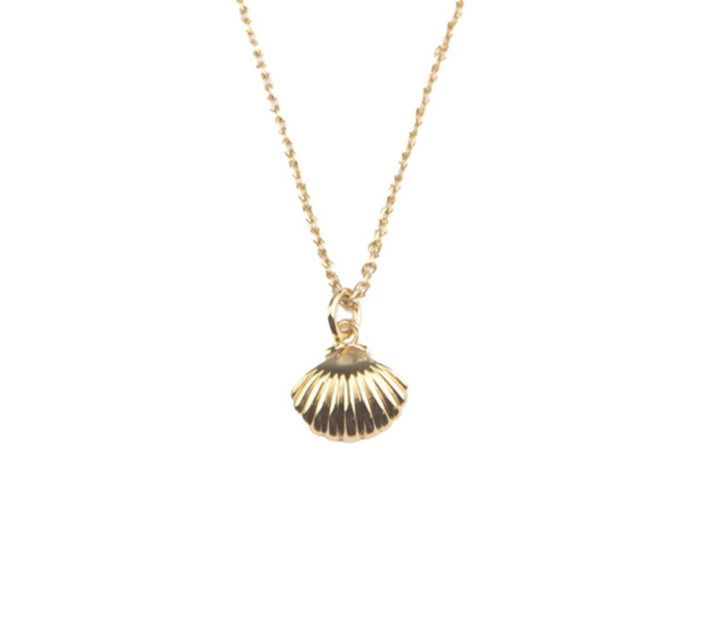 Souvenir Goldplated Necklace Sea Shell