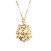 Necklace Lion gold
