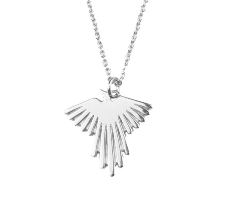 Necklace Eagle silver
