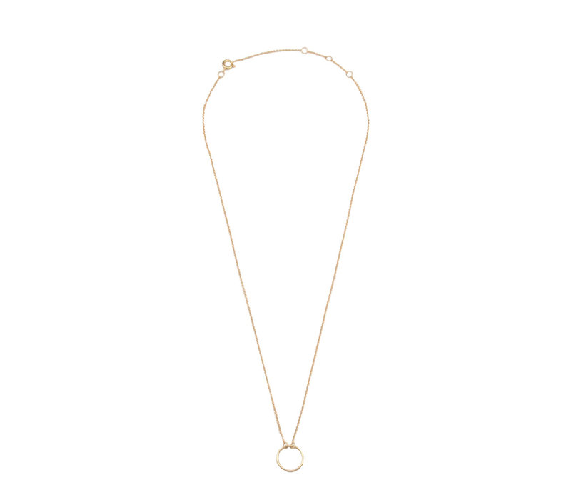 Necklace Circle plated