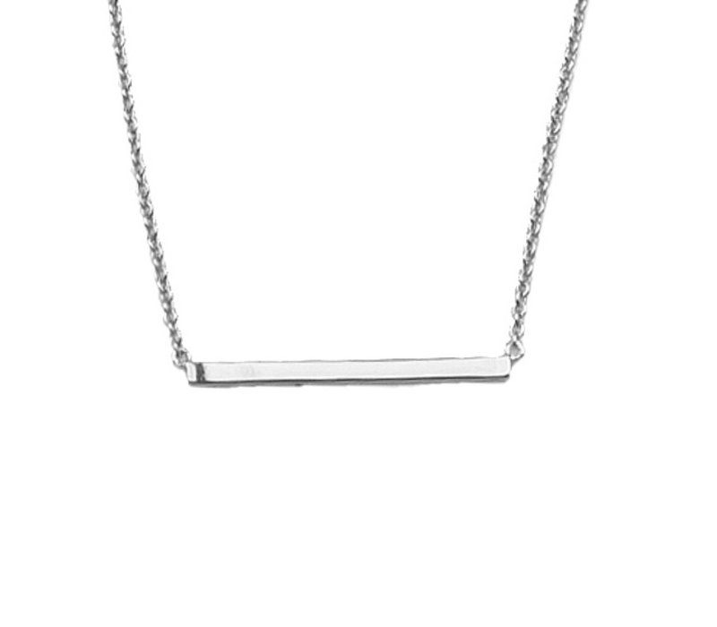 Ketting Staaf zilver