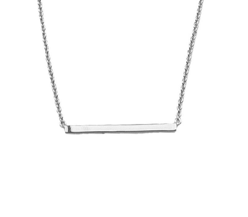 Necklace Bar silver