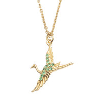Necklace Crane gold