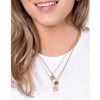 Necklace Scorpio Circle plated