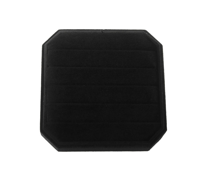 Velvet ring display box Black