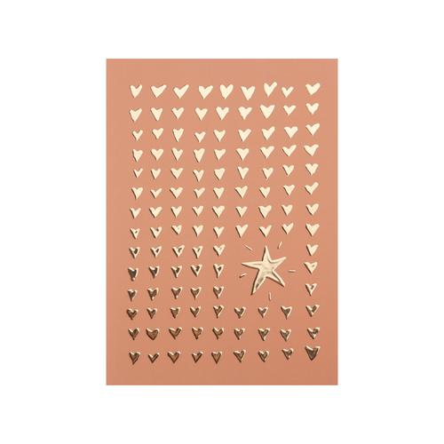 Postcard Hearts