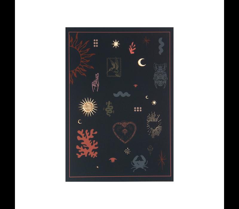 Kaart Lucky symbols