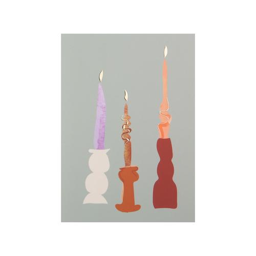 Postcard Candles