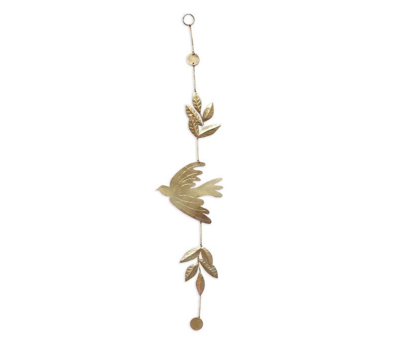 Pendant with bird