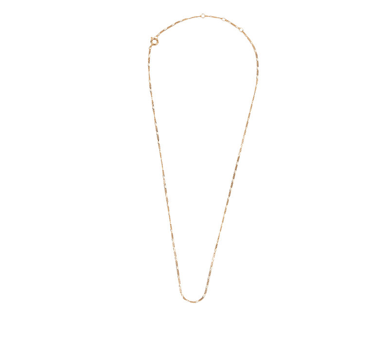 Essentials Goldplated Necklace Figaro