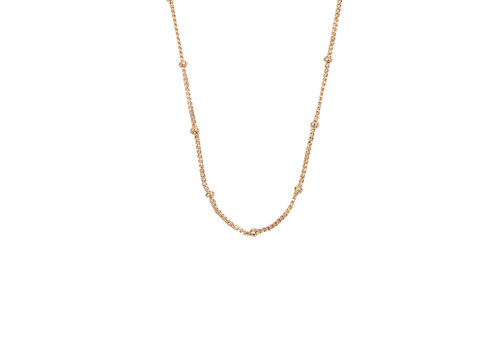 All the Luck in the World Essentials Goldplated Ketting Bolletjes