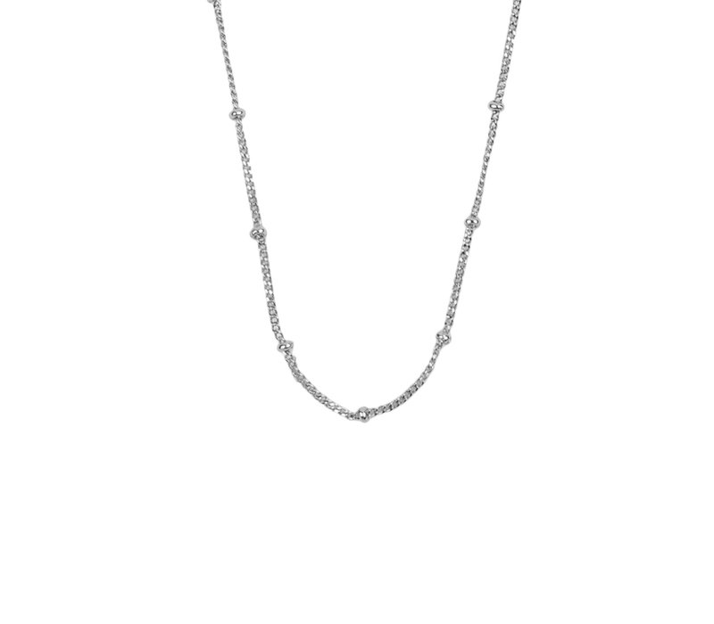 Essentials Silverplated Necklace Bobble