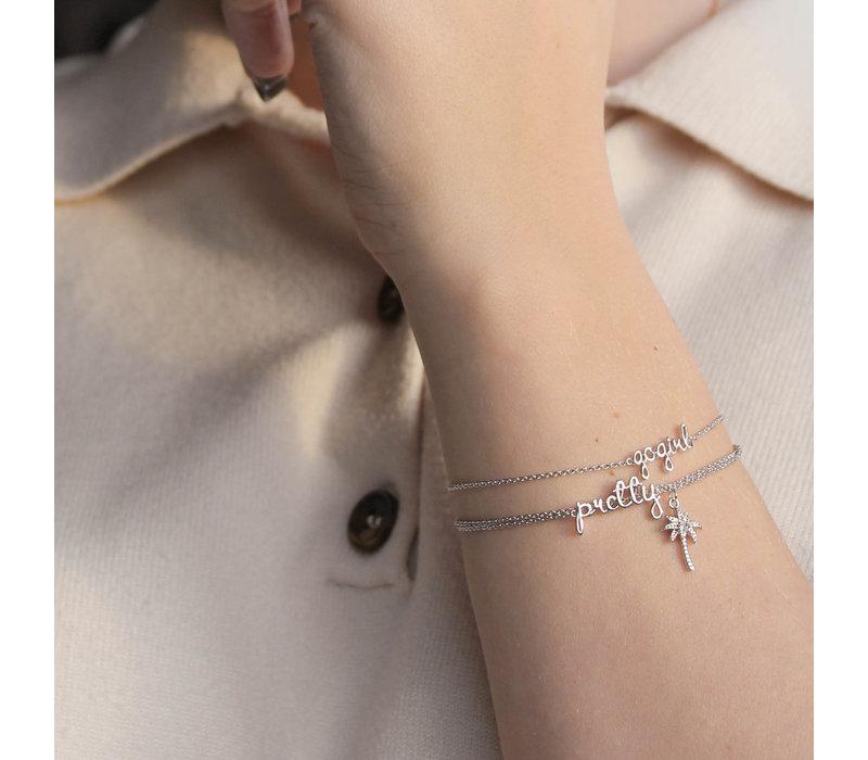 Urban Silverplated Armband Pretty