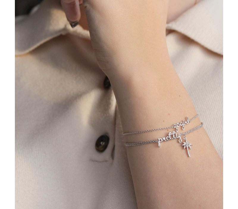 Urban Silverplated Bracelet Pretty