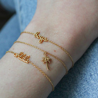 Bracelet Ohlala plated