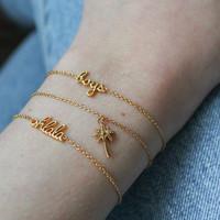 Urban Goldplated Armband Ohlala