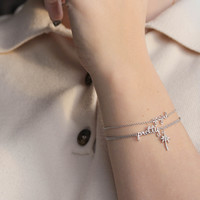 Urban Silverplated Bracelet Gogirl