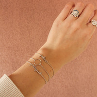 Bracelet Gintonic plated