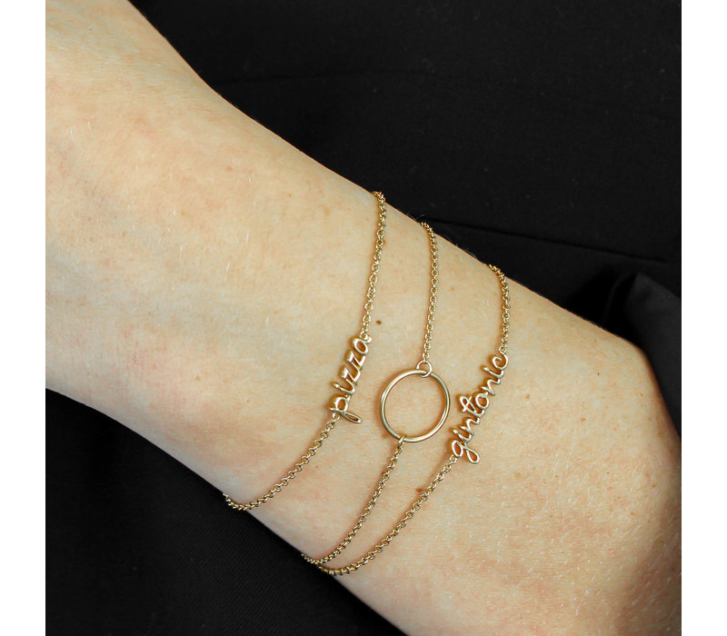 Urban Goldplated Armband Gintonic