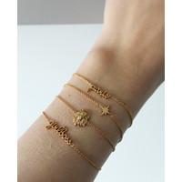 Urban Goldplated Armband Paris
