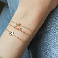 Urban Goldplated Armband London