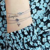 Souvenir Silverplated Armband Tand