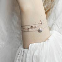 Souvenir Silverplated Bracelet Star Burst