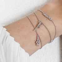 Souvenir Silverplated Armband Slang