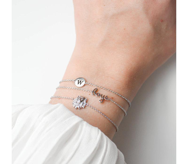 Bracelet Lion plated